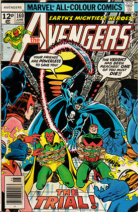 Un extraño trio en Marvel.