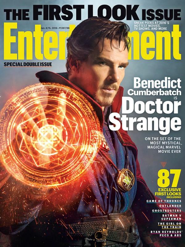 Benedict Cumberbatch como el Doctor Extraño