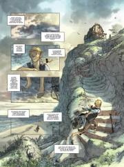 Páginas de Jim Hawkins por Sebastien Vastra