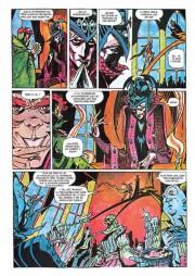 Páginas de Elric de Melniboné por Michael Gilbert y Craig Russell