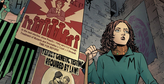 Aún hay propaganda anti-mutante en las calles