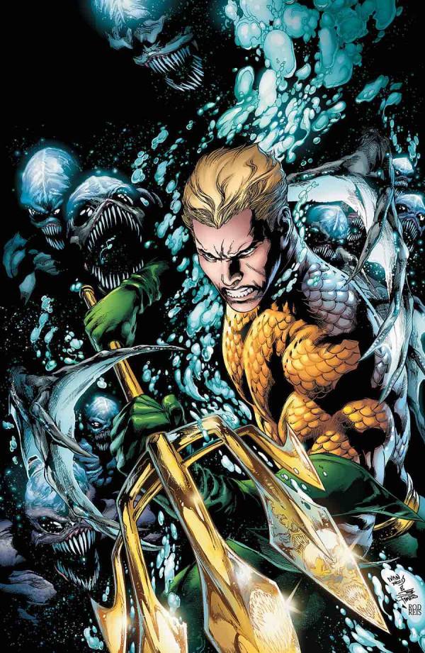 El Aquaman de Ivan Reis era un regalo para los ojos