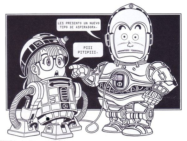 personajes_dr_slump_star_wars