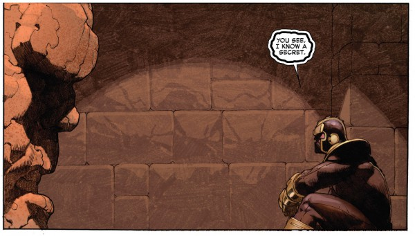 8 - Secret Wars Thanos Ben Grimm