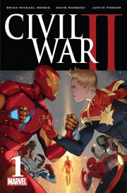 Portada de Civil War II #1
