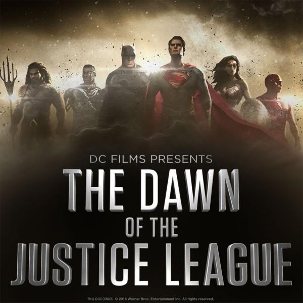 Justice League Dawn of poster JLA DC Comics