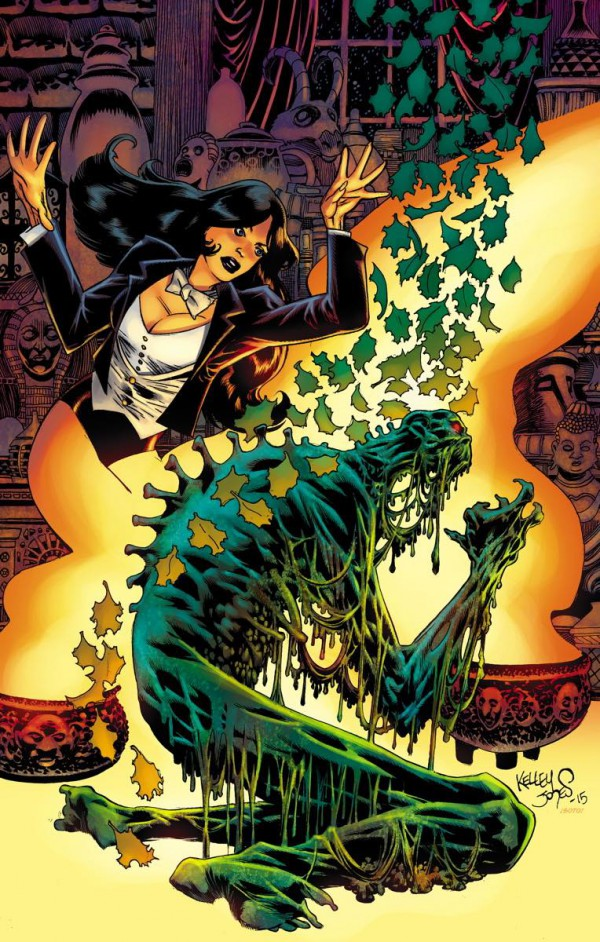 Kelley Jones a lo suyo en Swamp Thing