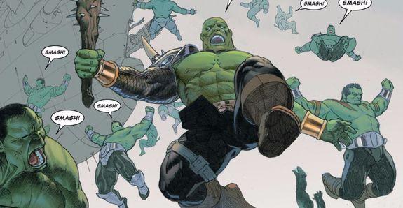 Una armada Hulk se dirige a la batalla