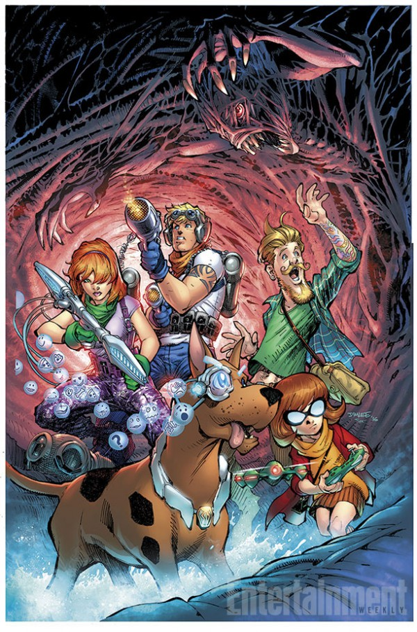 Scooby Apocalypse, por Jim Lee