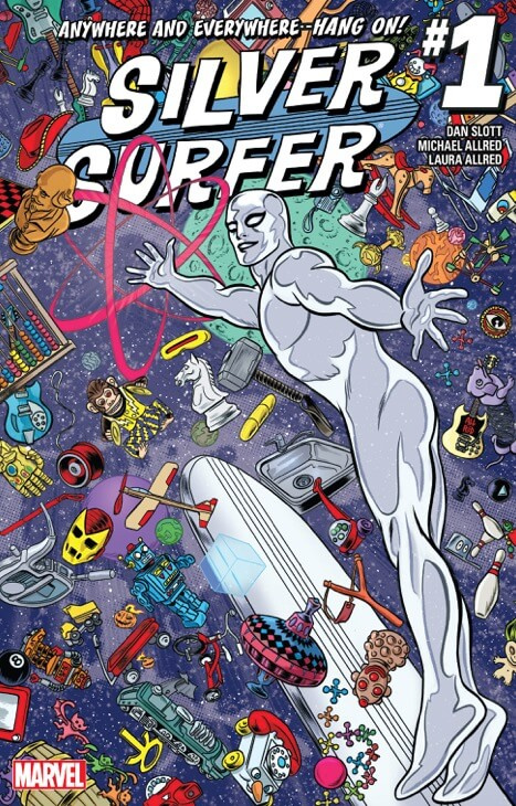Silver Surfer (2016) Cover
