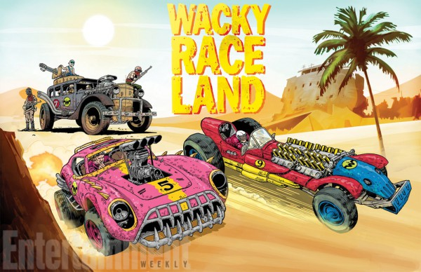Wacky Race Land, por Mark Sexton