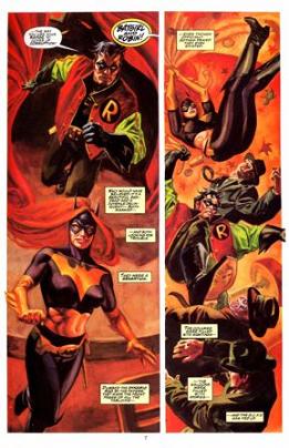 Batgirl y Robin son los héroes enmascarados protagonistas de esta aventura