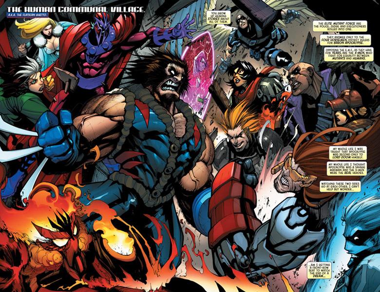 La Patrulla-X contra la Fuerza Mutante de Élite, según Gerardo Sandoval