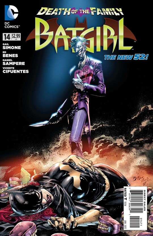 Batgirl bajo Gail Simone y Mike Marts