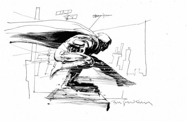 Ilustración de Bill Sienkiewicz