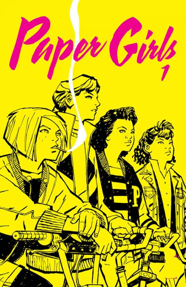 Portada provisional de Paper Girls