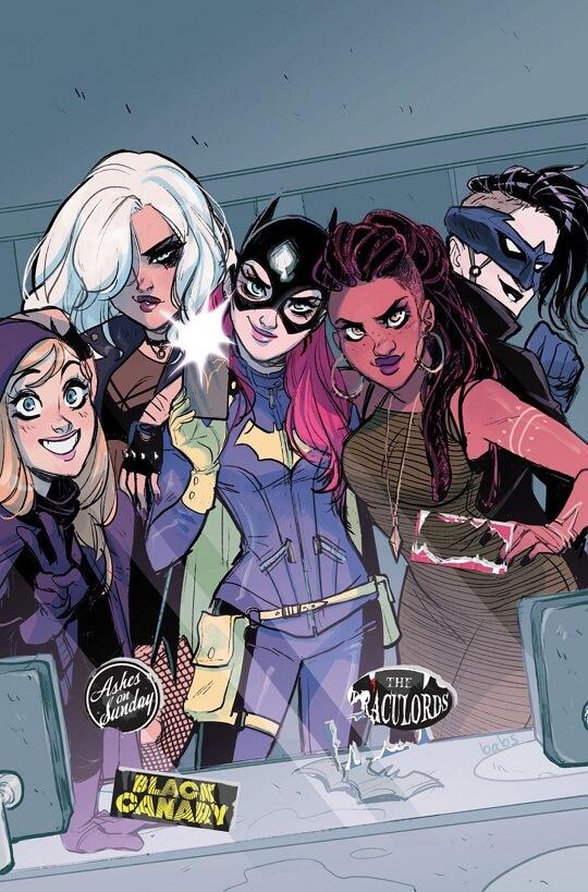 La portada del Batgirl #50 mostrando la evolución tras año y medio