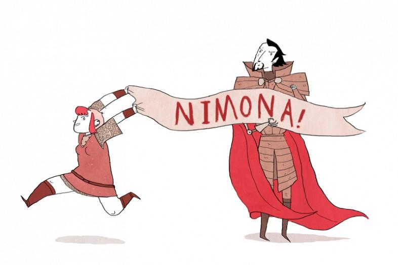 Webcómics   Nimona