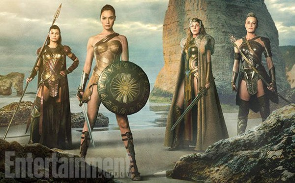 Primera imagen de Wonder Woman en Themyscira