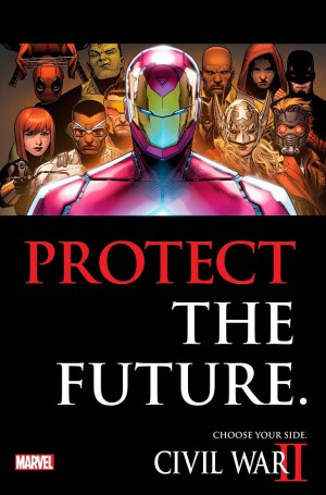 Civil War II Equipo Iron Man