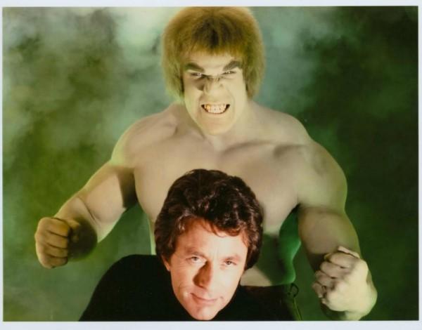 El Hulk televisivo y su alter ego humano