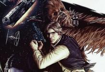 Han Solo Star Wars portada