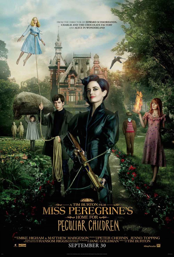 Póster de Miss Peregrine's home for peculiar children