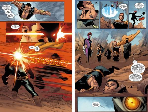 Namor death