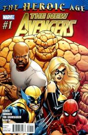 New Avengers v2 1 cover