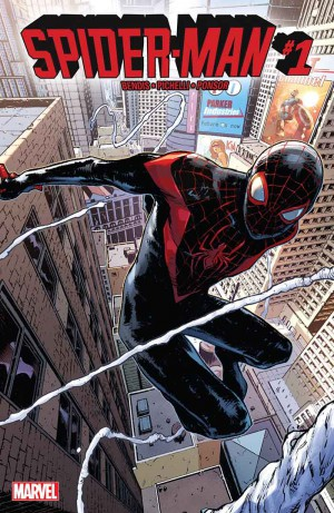 Spider-Man v2, 1 cover