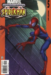 Ultimate Spider-Man 5 cover