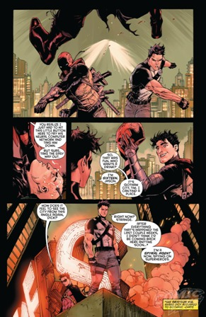 Grayson, Capucha Roja y Red Robin, envueltos en una misteriosa trama