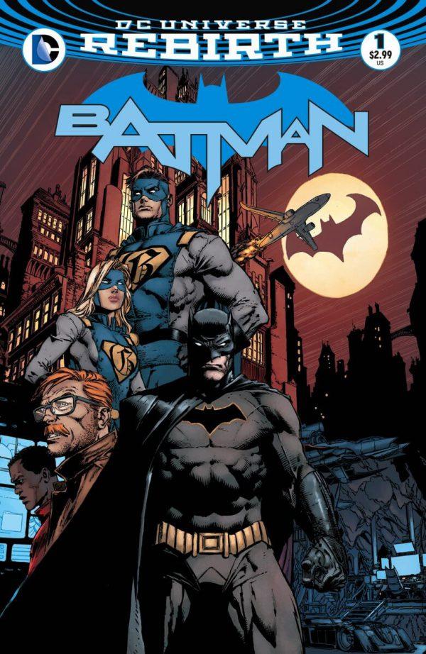 Portada de Batman #1, obra de David Finch
