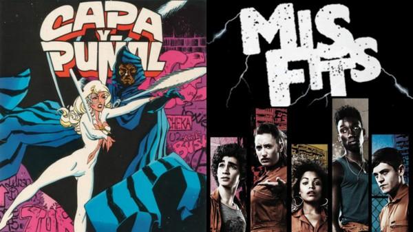 Capa & Puñal y Misfits, al canal Freeform