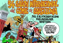 Cartel-34-Salon-Comic-Barcelona-Ibañez-Destacada