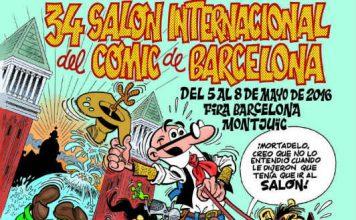 Cartel-34-Salon-Comic-Barcelona-Ibañez-Destacada