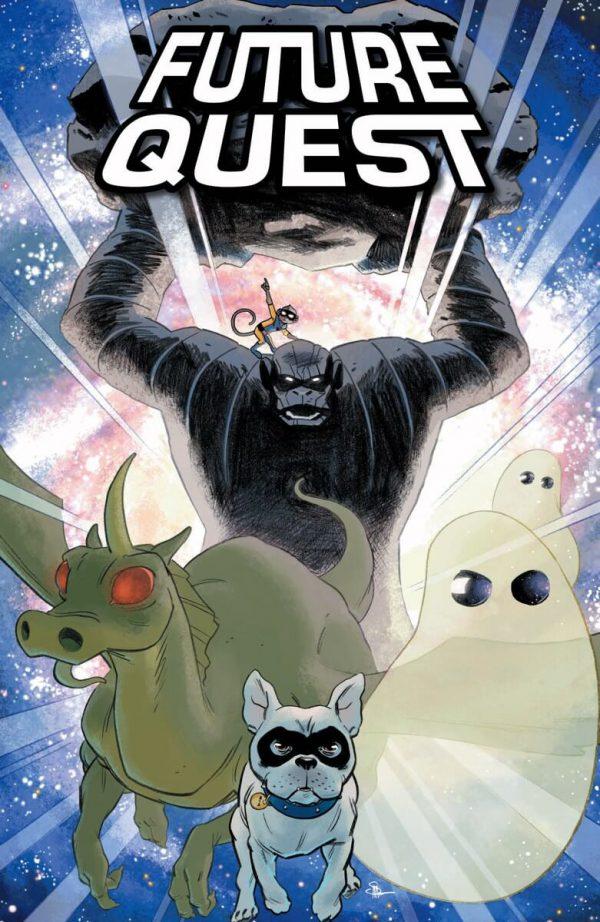 Portada de Future Quest #2, obra de Evan 'Doc' Shaner