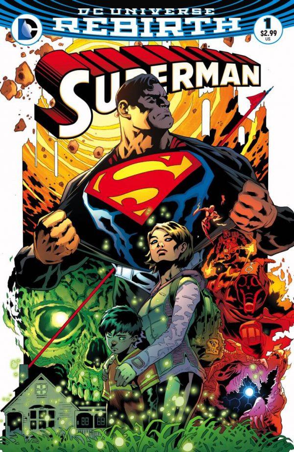 Portada de Superman #1, obra de Patrick Gleason