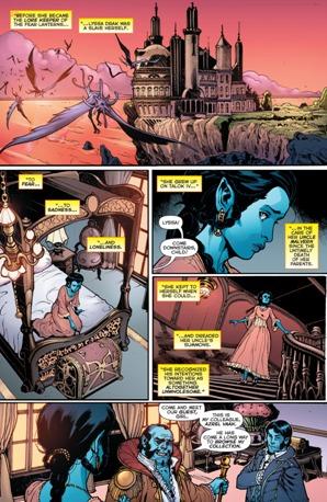 Interesante origen secreto de Lyssa Drak