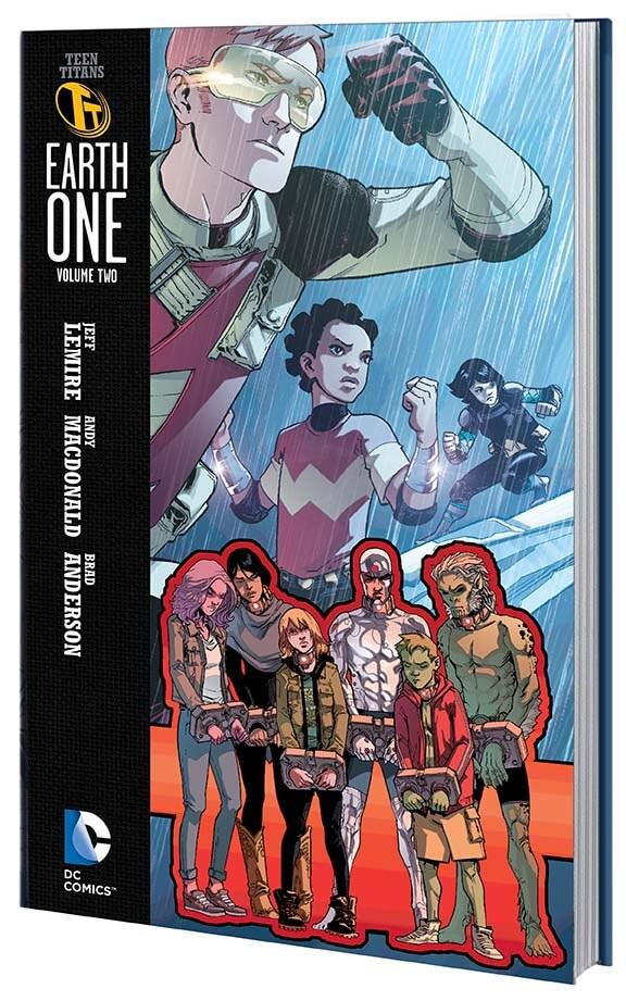 Portada de Teen Titans Earth 2 Vol 2, obra de Andy Macdonald
