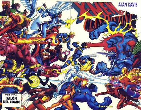Patrulla-X vs. ClanDestine, por Alan Davis