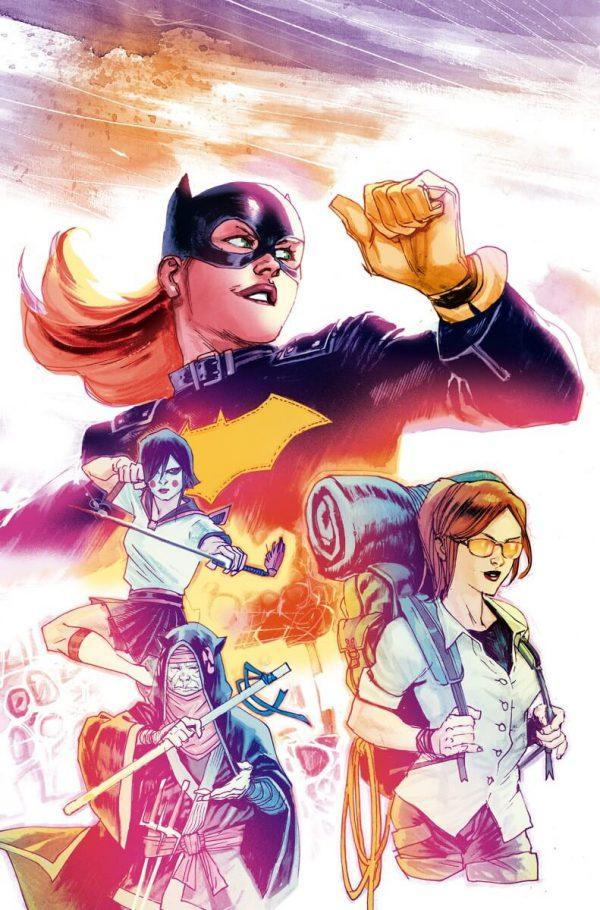 Portada de Batgirl #1, obra de Rafael Albuquerque