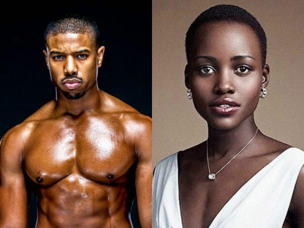 Michael B. Jordan y Lupita Nghs..Nyog... Lupita N., nuevas caras para Black Panther