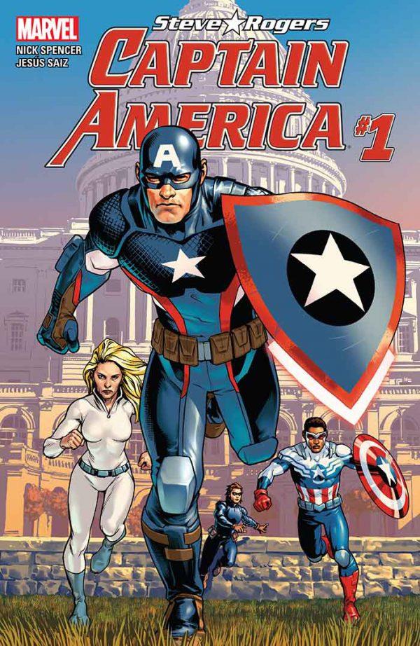 Portada de Captain America: Steve Rogers #1