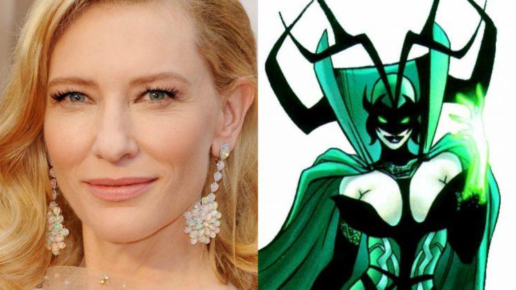 Cate Blanchett será Hela