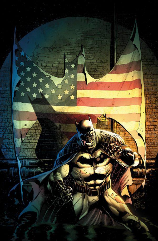 Portada de Detective Comics #936, obra de Eddy Barrows