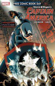 FCBD Captain America portada