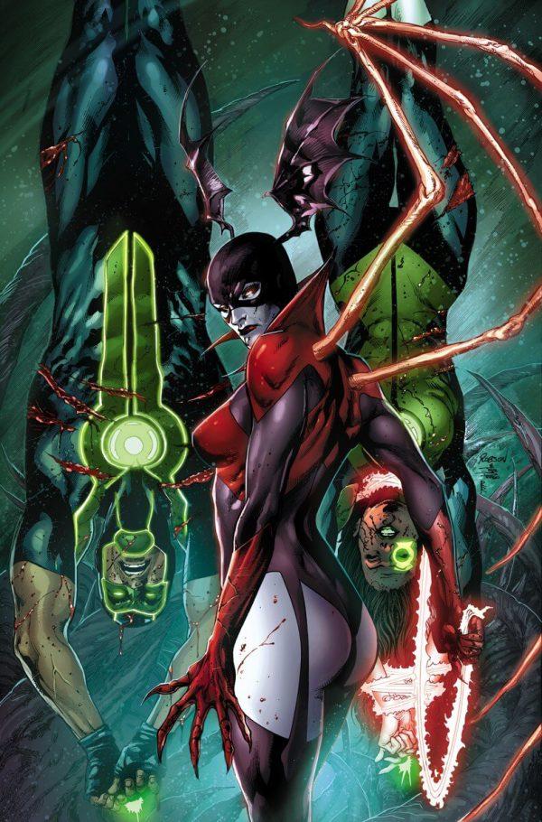 Portada de Green Lanterns #2, obra de Robson Rocha