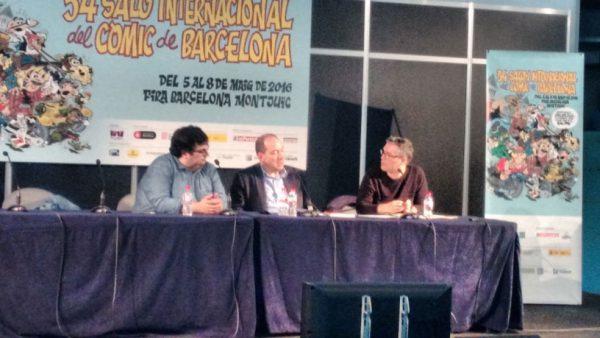 Álvaro Pons, Vicent Sanchis y  Álvaro de los Ángeles