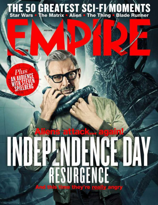 Jeff Goldblum, portada de Empire